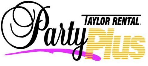 Taylor Rental Party Plus Logo